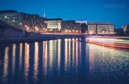 Berlin – Kapelle-Ufer bei Nacht