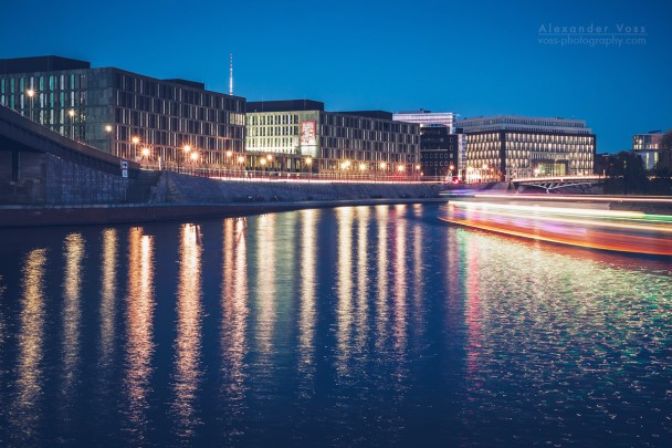 Berlin - Kapelle-Ufer at Night