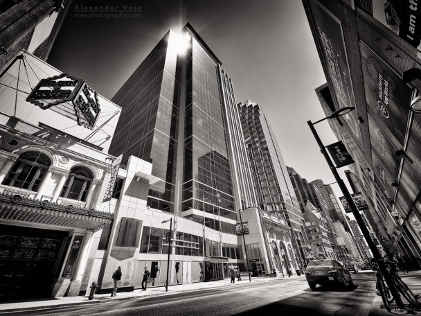 Black and White Photography: Toronto - Yonge Street