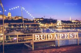 Budapest – Donau-Ufer / Kettenbrücke