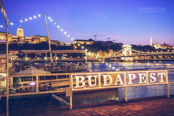 Budapest - Donau-Ufer / Kettenbrücke