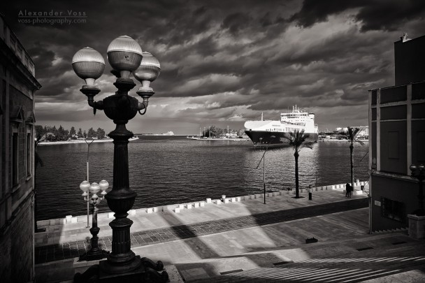 Black and White Photography: Brindisi - Scalinata Virgilio