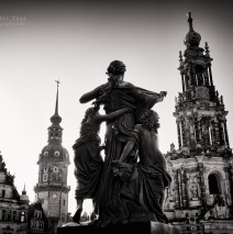 Black and White Photography: Dresden – Schlossplatz