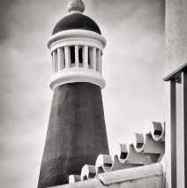 Black and White Photography: Algarve Chimney (Portugal)