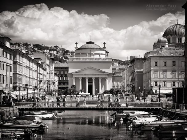 Black and White Photography: Trieste - Sant'Antonio Taumaturgo