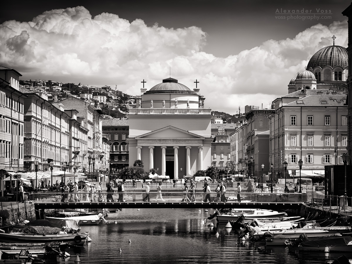 Black and White Photography: Trieste – Sant'Antonio Taumaturgo