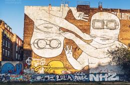 Berlin Street Art / Cuvry-Graffiti