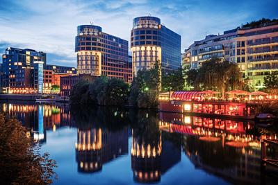 Architekturfotografie: Berlin - Spree-Bogen