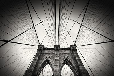 Architekturfotografie: New York - Brooklyn Bridge