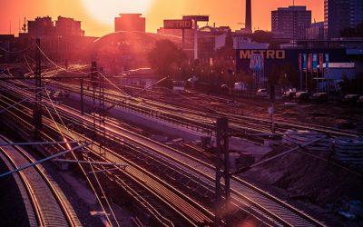 Berlin – A Sunset in Friedrichshain