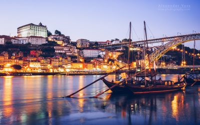 Porto – Blue Hour Skyline