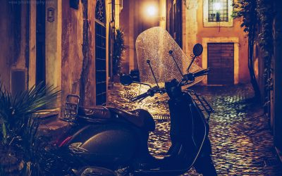 Rome by Night: Via dei Coronari