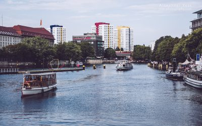Berlin – View over the Spree