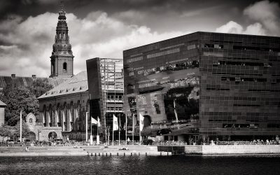 Black and White Photography: Copenhagen – Royal Library