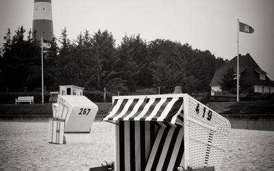 Black and White Photography: Sylt – Lighthouse Hörnum