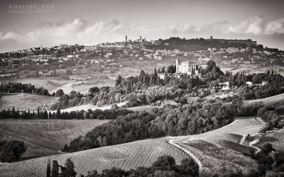 Black and White Photography: Tuscany – Val di Cecina