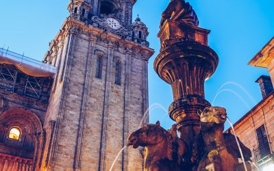 Santiago de Compostela – Fonte dos Cabalos
