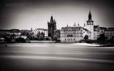 Long Exposure (Black and White): Prague