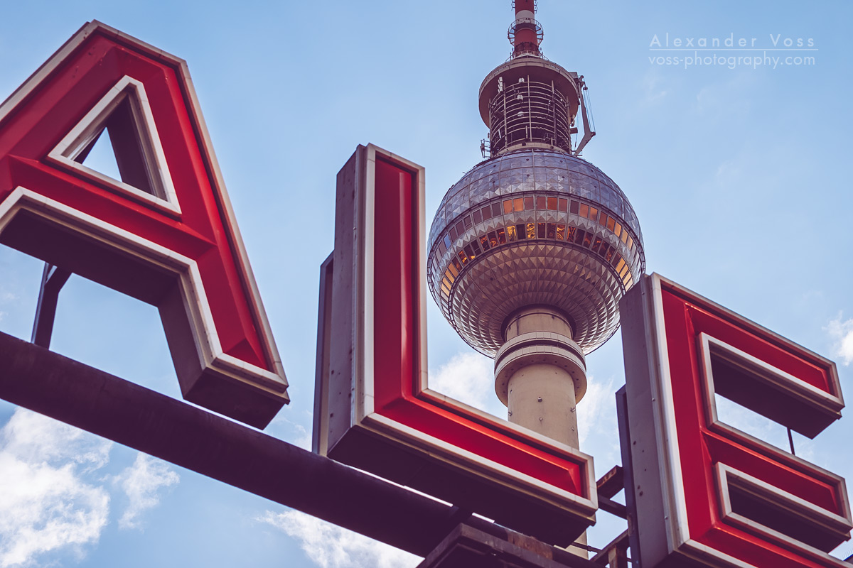 Alexanderplatz / Berlin TV Tower