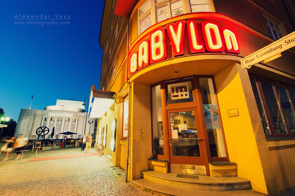 Kino Babylon / Volksbühne Berlin