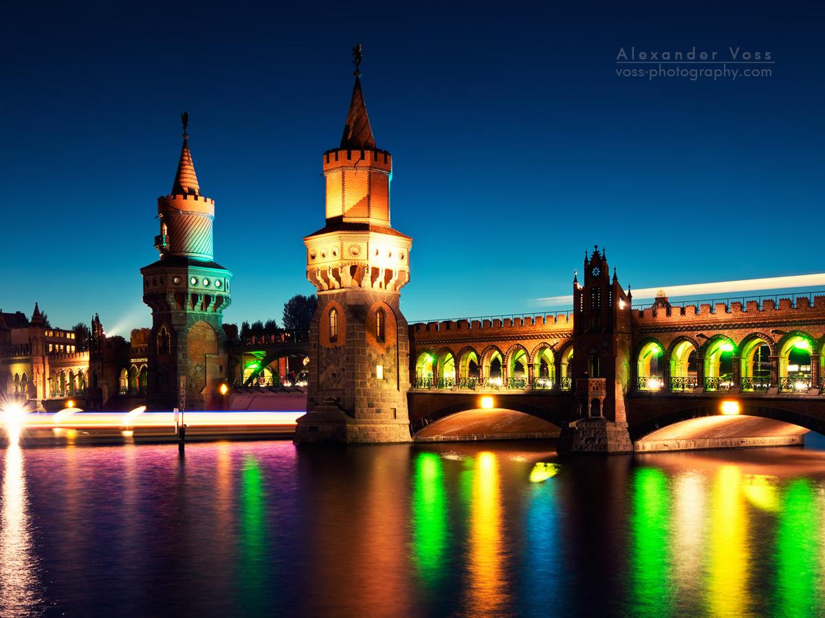 Oberbaumbrücke Berlin beim Festival of Lights